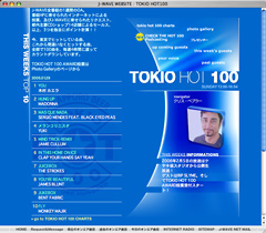 J-WAVE WEBSITE - TOKIO HOT100